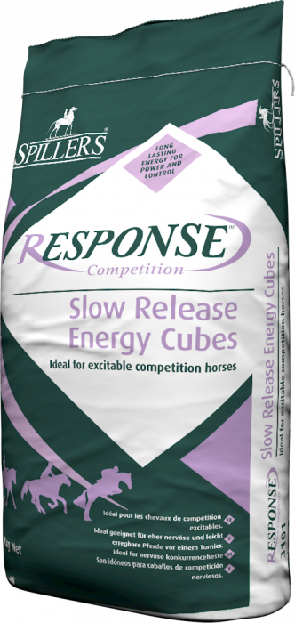 SPILLERS -  Response Slow Energy Cubes H1- Saco 20 Kg