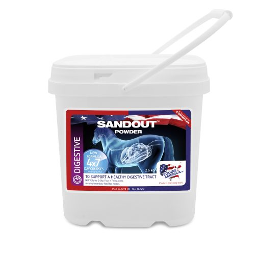 EQUINE AMERICA - Sand Out Powder H1 - 2,6 kg