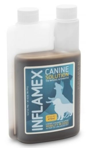 EQUINE AMERICA -Canine Inflamex Solution - 473 ml